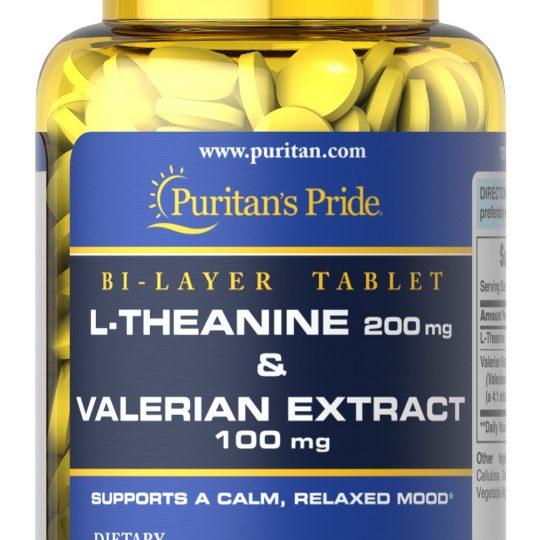 L-Theanine 200 mg & Valerianna