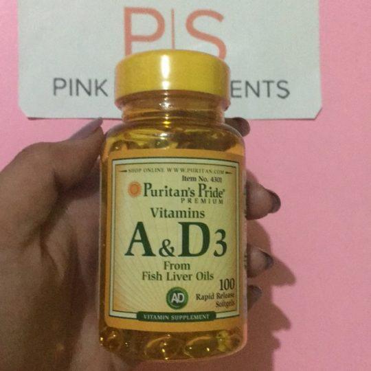 A&D 3 vitamin 100