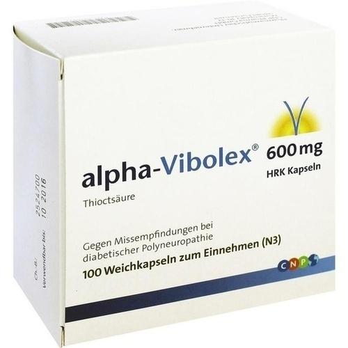 Alpha Vibolex (liponsav) 600 mg