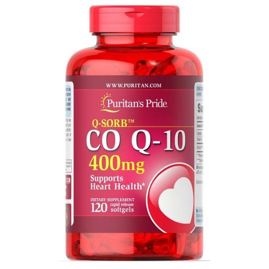 CO Q-10 400mg 120db., (puritán)