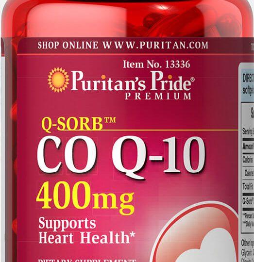 CO Q-10 400mg 60db