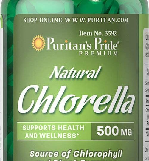 Chlorella 500 mg , 120db