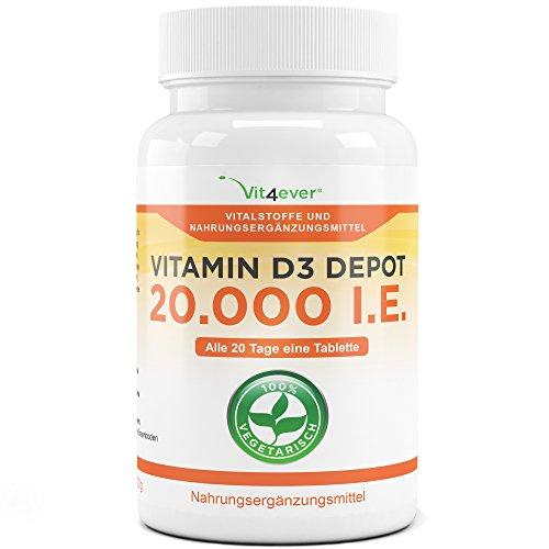 D3 vitamin depot 20000