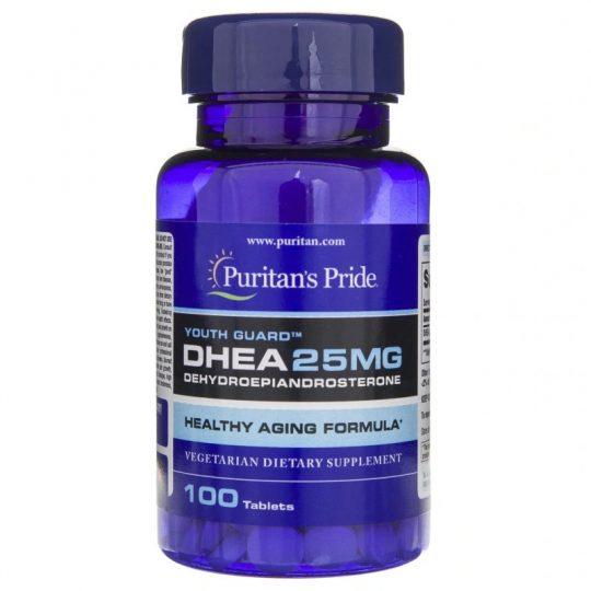 Dhea 25 mg 100db.