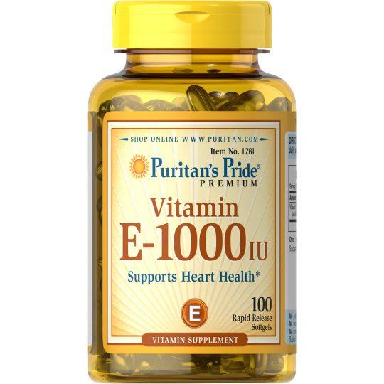 E vitamin 1000 IU 100db.