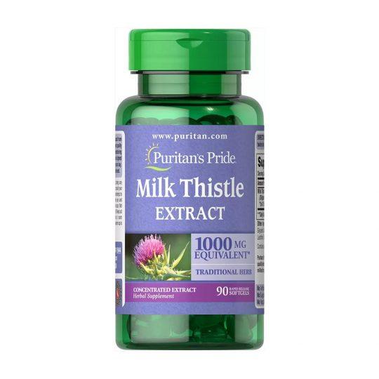 Milk Thistle Extract 1000 mg ( máriatövis mega dózis) 90 kapszul