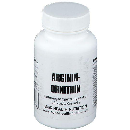 Arginin 1g./ Ornithin 500mg., 60db.kapszula