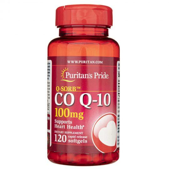 Q10 100mg (120db., puritan)