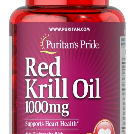 RED KRILL OIL 30db (1000mg)