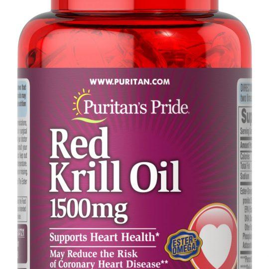 Red Krill Oil 30db (1500mg)