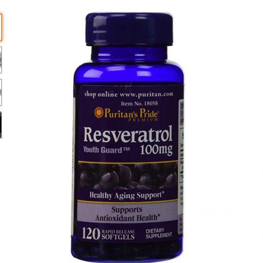 Resveratrol100mg 120db