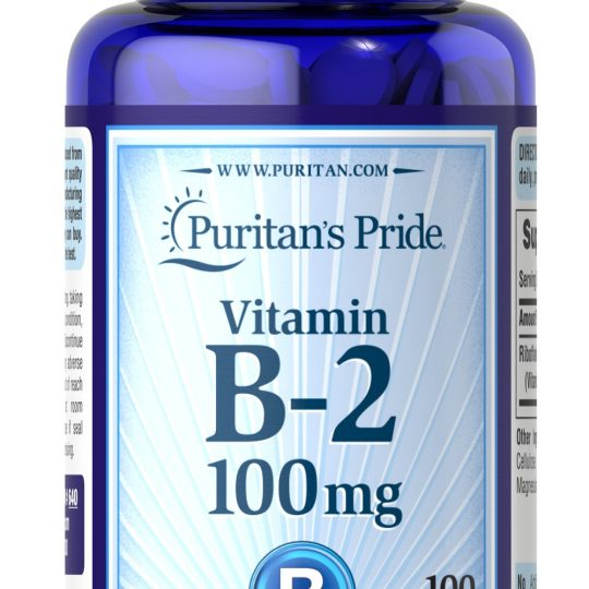 Vitamin B-2 (Riboflavin) 100 mg 100db