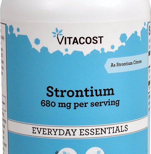 Strontium 340 vitacost