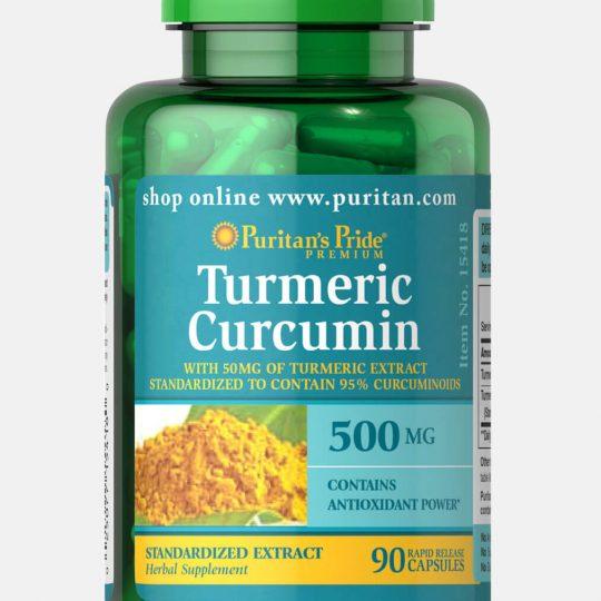 Turmeric Curcumin 500mg. 180db