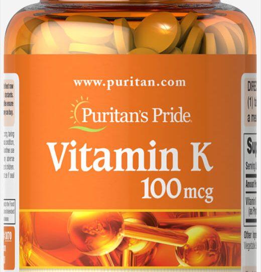 Vitamin K2 100mcg.