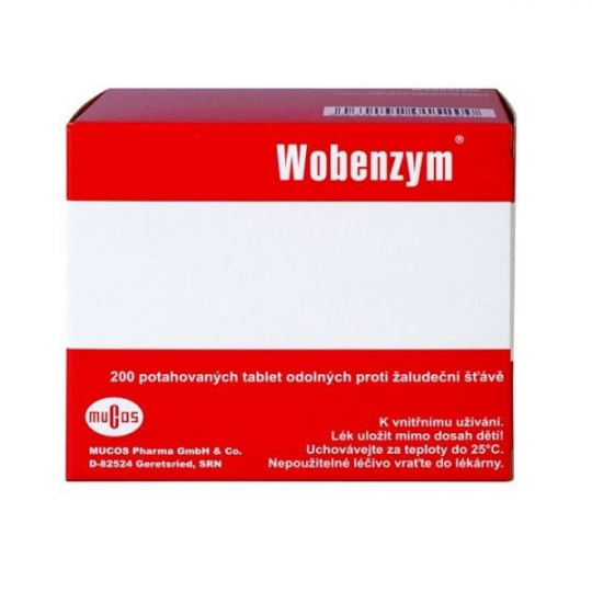 Wobenzyme 200d