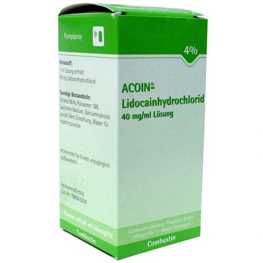 ACOIN lidokain-hidroklorid 40 mg / ml oldat, helyi érzéstelenítő