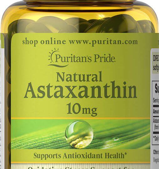 ermészetes Astaxanthin 5 mg. 60db
