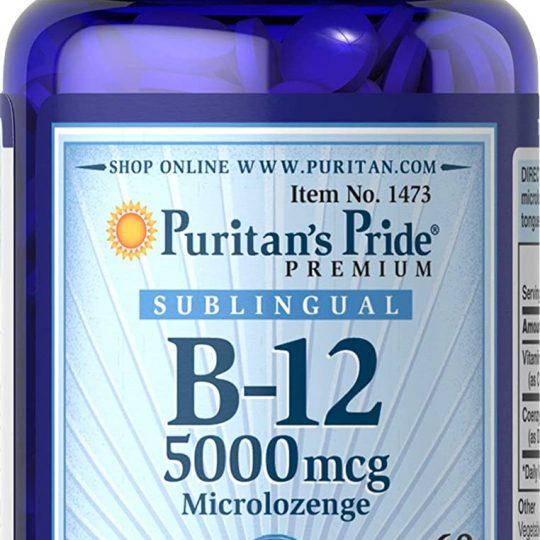 B12 5000 mcg (extra dózis) 30db