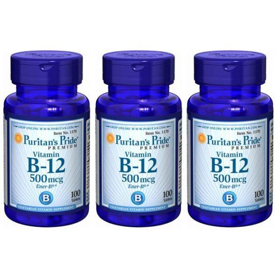B12 Vitamin 500mcg 100db-os