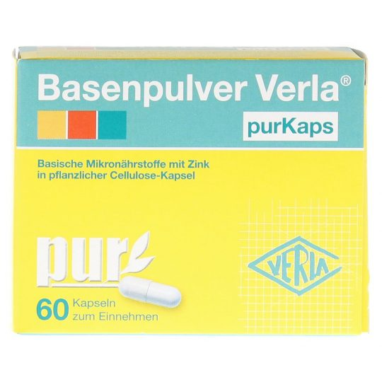 Basocaps (Basenpulver) 60db.