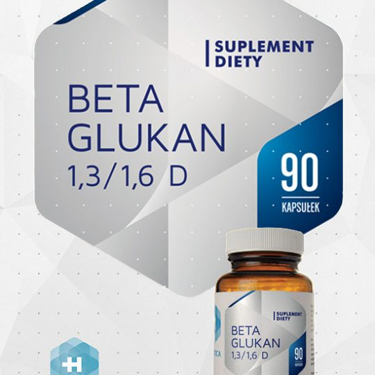 Beta Glukan 1,3/1,6 D x 90 kapszula