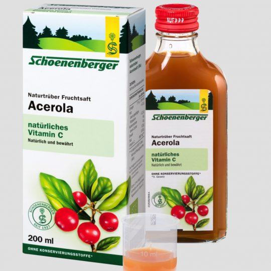 Bio Acerola préselt leve 200ml