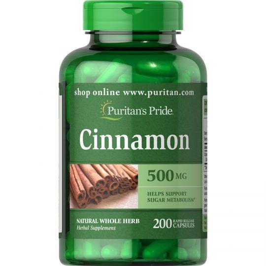 Fahéj 500 mg , 100 kapszula