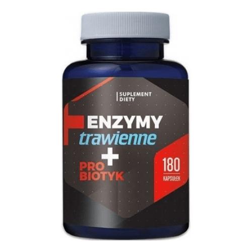 Emésztő enzimek probiotikummal 180db kapszula