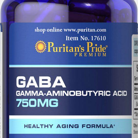 GABA (Gamma Aminobutyric Acid) 750 mg 90db