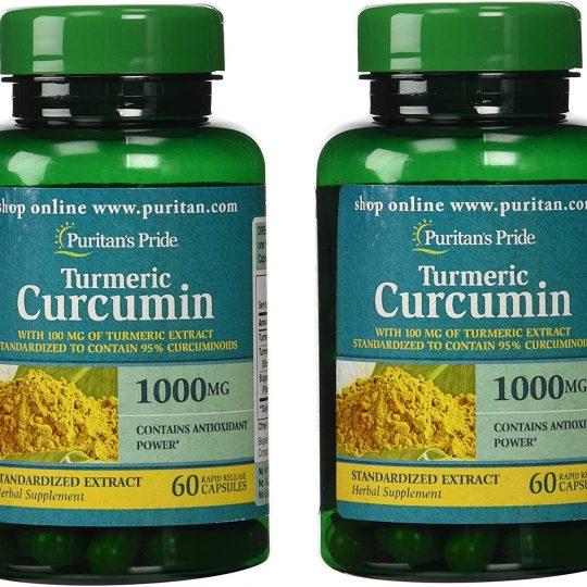 Turmeric Curcumin 1000mg(mega dózis) 60db