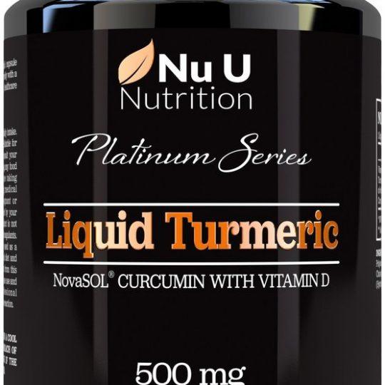 Kurkumin folyadék D3 vitaminnal 60db gél kapszula