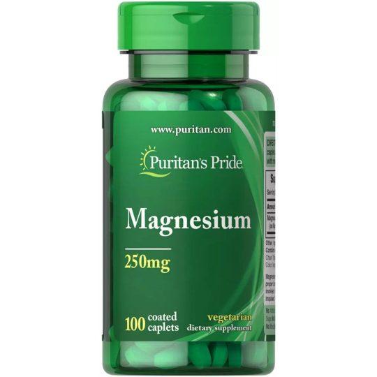 Magnézium 250mg., 100db.