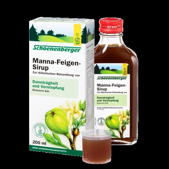 Bio manna préselt leve és szárított füge vizes kivonata 200ml