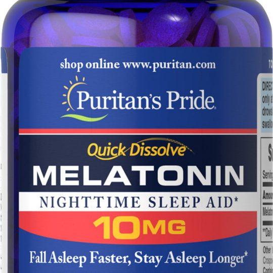 Melatonin 10mg 90db-os (Mega dózis , eper ízű)
