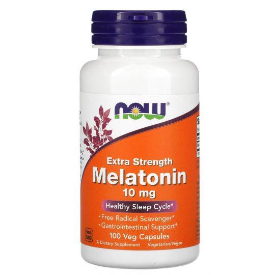 Melatonin 10mg 100db-os (mega dózis)