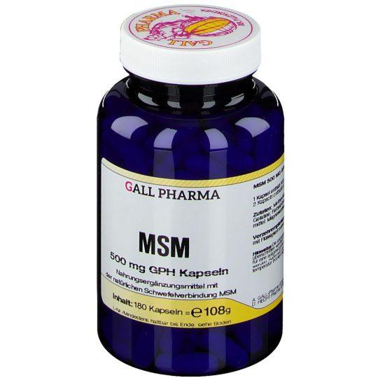 Msm 500mg