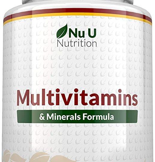 multivitamins nu u