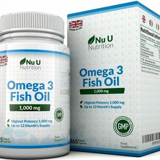 omega 3 fish oil nu u