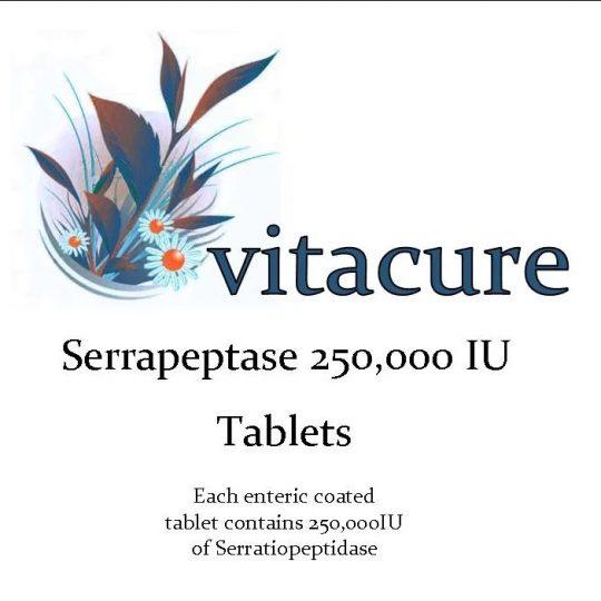 Szerrapeptáz enzim 90db tabletta , 250.000 IU ( Ultra Erős)